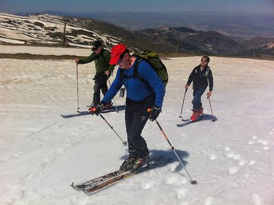 Ski Touring Veleta and Caballo May 2014