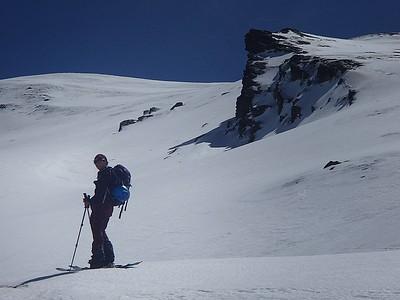 Ski West Flank Cerro de Caballo March 2014