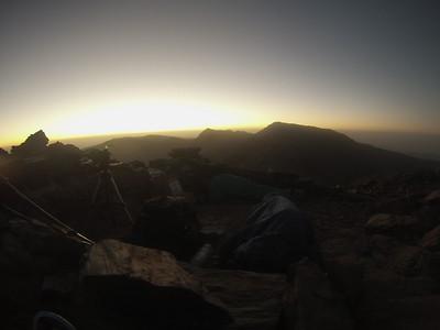 Overnight bivouac Los Machos