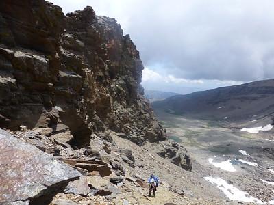 Alcazaba, Mulhacen 3 July 2014