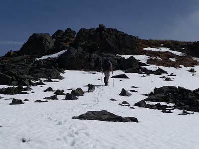 Russ headed toward the summit