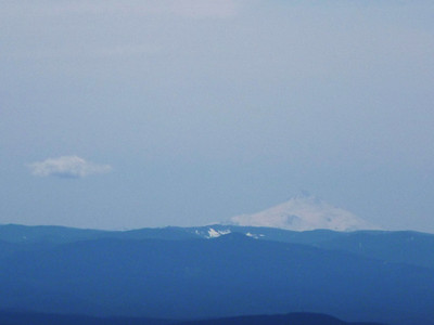 Mt. Jefferson from the summit of Silver Star mountain