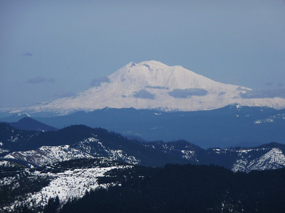 Mt. Adams from the summit of Silver Star mountain