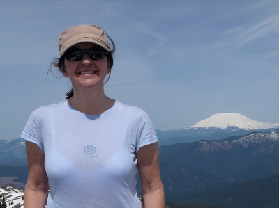 MC on the summit of Silver Star
