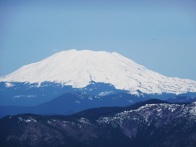 Mt. St. Helens from the summit of Silver Star mountain