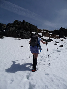 Making my way up to the summit