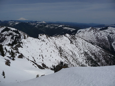 Heading down; got steep here... :)