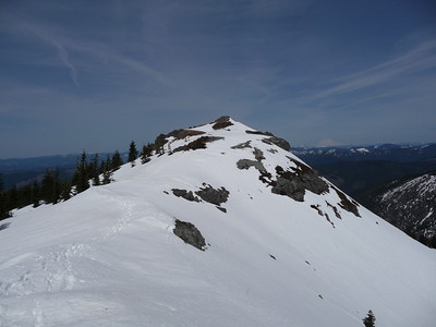 One last look at summit of Silver Star