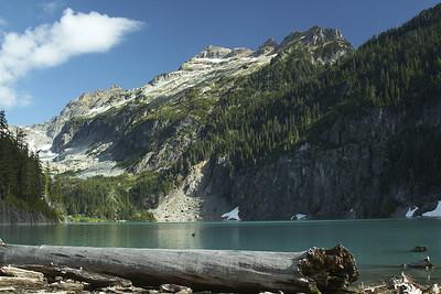 Wandering around the Blanca Basin, 9-7-08