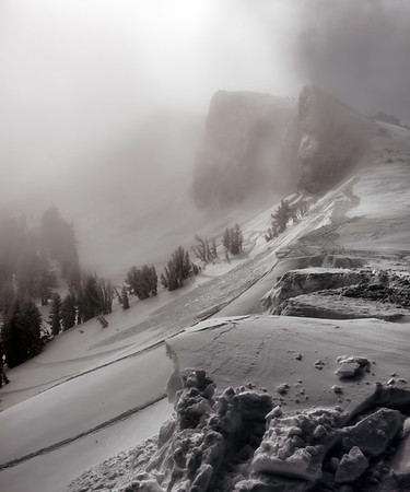 Foggy Powder Days, Kirkwood