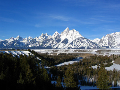 The Snake River in Grand Teton National Park, Wyoming