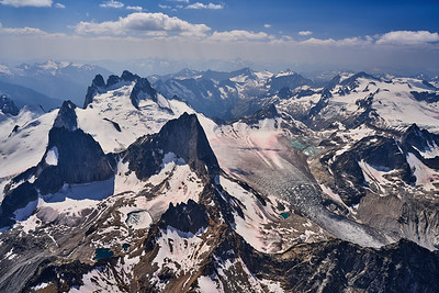 High Above The Bugaboos