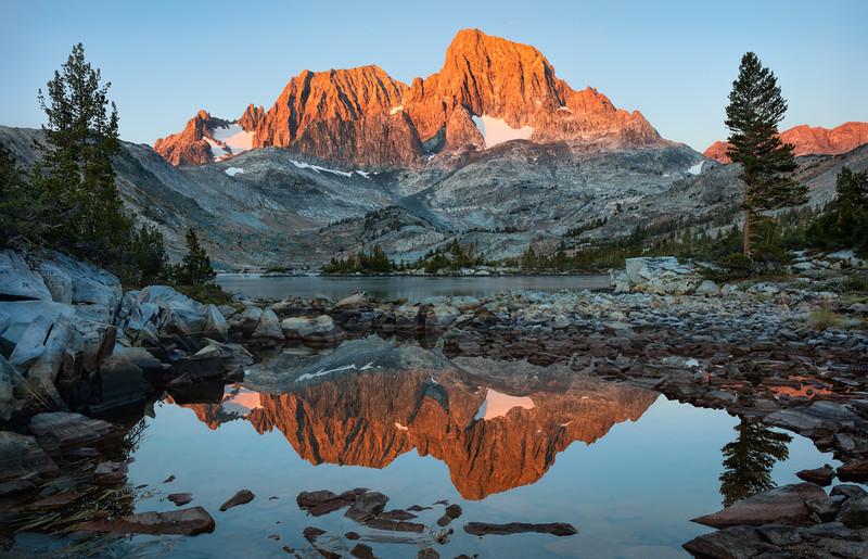 Banner Pk & Mt Ritter sunrise