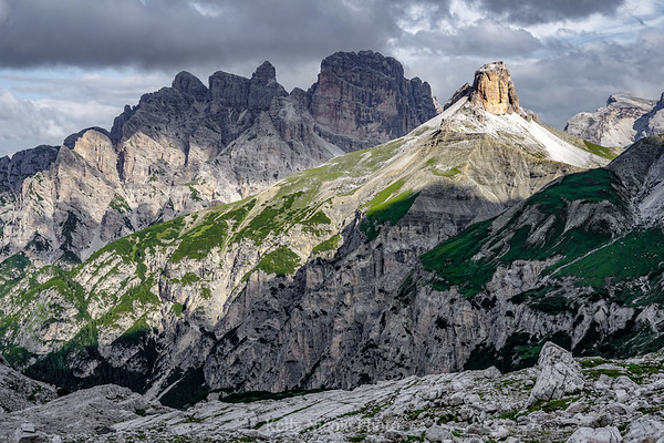 The rugged Dolomites, Italy