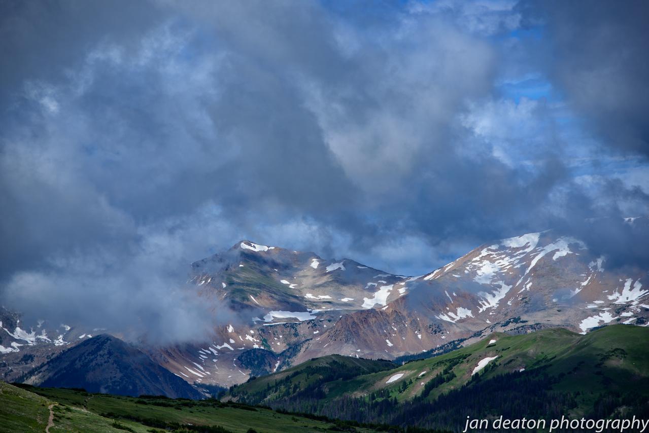Whispy Cloud Peaks