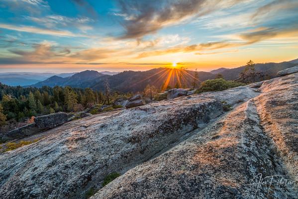Beetle Rock Sunset