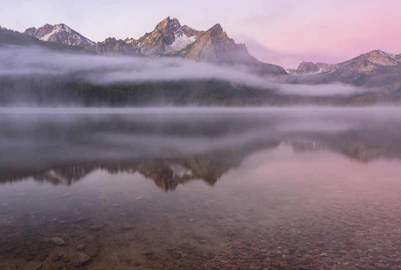 Stanley Lake Dawn