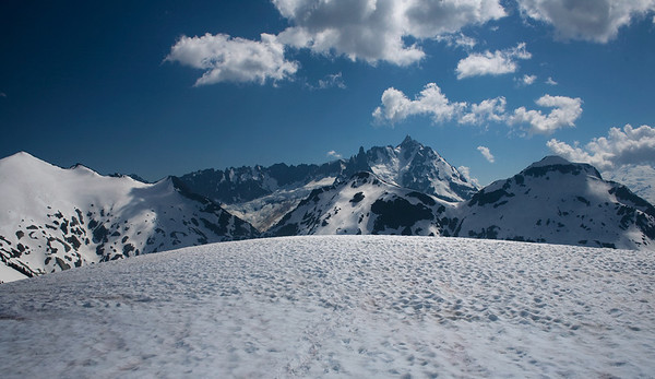 The view from Hannegan Peak, Mt Baker Wilderness