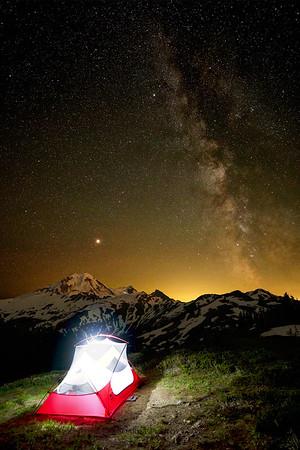 Room over the Milky Way