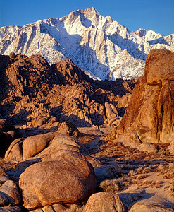 Lone Pine Peak, E. Sierra
