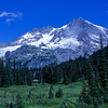 Mt Rainier from across Indian Henry's Hunting Ground