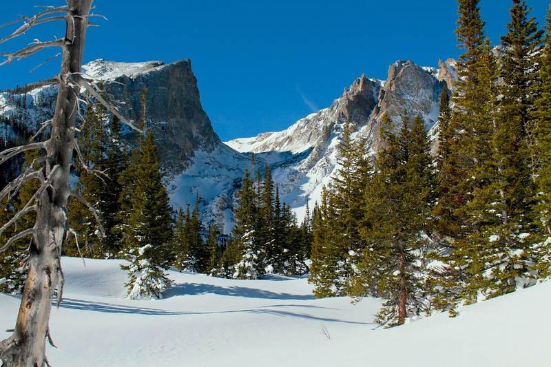 Snow at Dream Lake