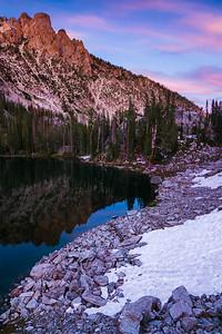 Alpine Creek Drainage, Sawtooth Mountains, Idaho.