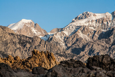Eastern Sierra Nevada Mountains and the Alabama Hills