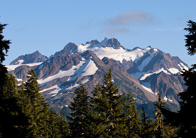 Mount Olympus from Hoh Lake