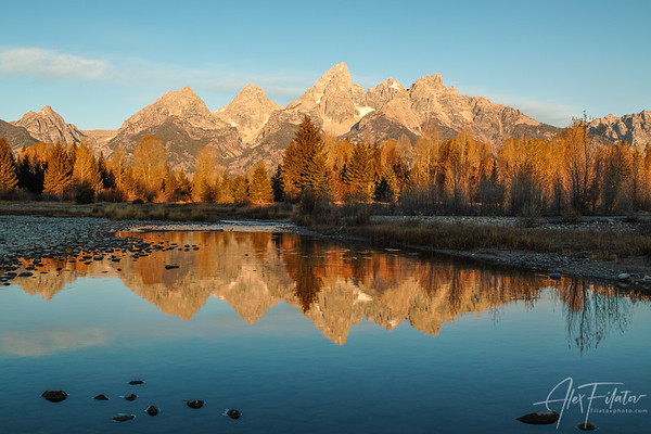 Teton Golden Sunrise