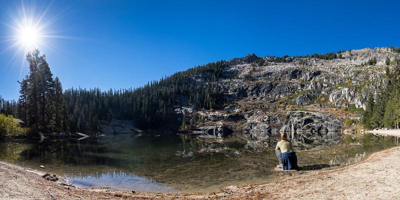 Uper Angora Lake, Tahoe Basin