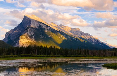 Mount Rundle Sunset