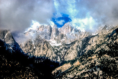 Mt. Whitney is the highest peak in the Continental United States.