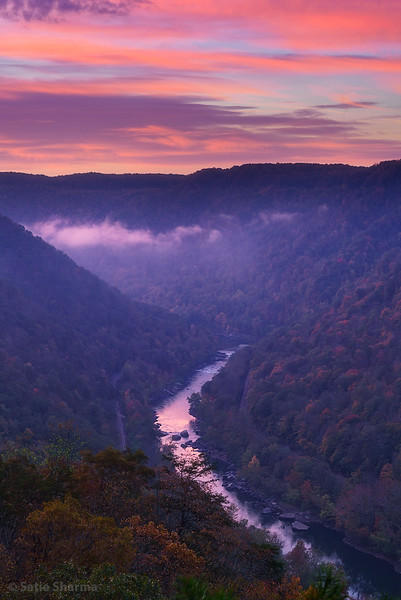 New River Dawn