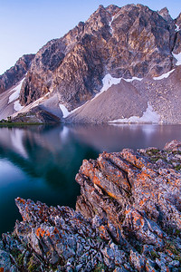 White Cap Peak Dawn, Lost River Range, Idaho.
