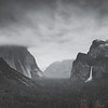 Darkened Tunnel View