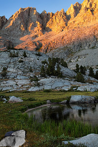 Mt. Mendel, E. Sierra