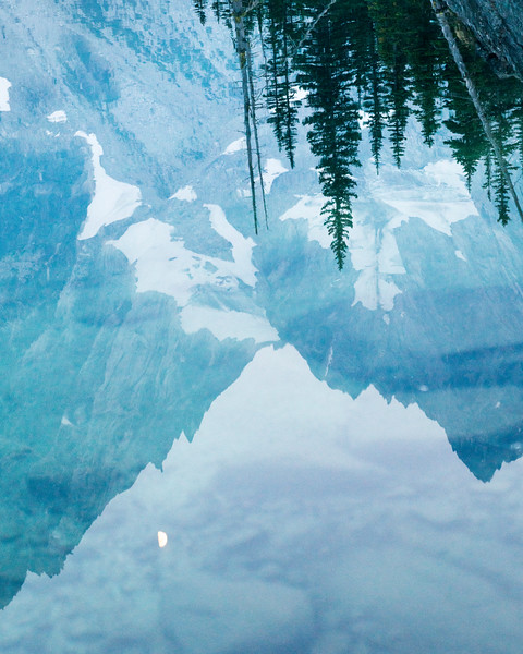 Mountain reflections, Washington