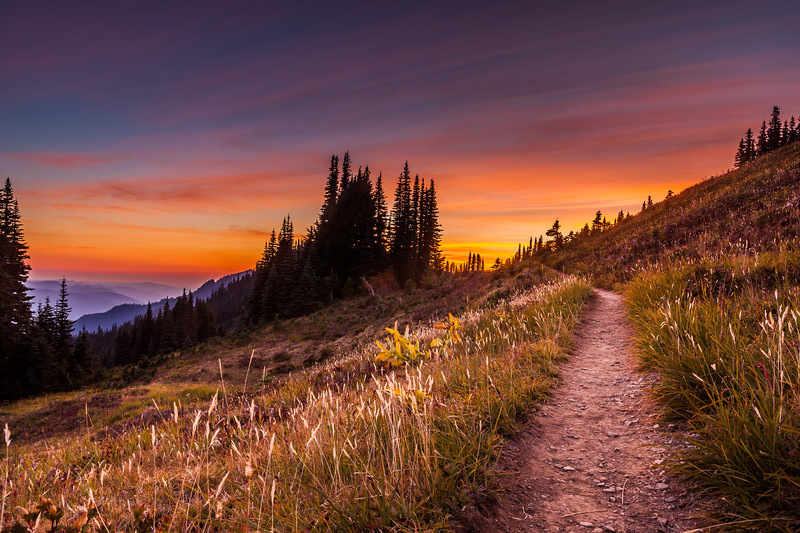 Sunset on the Trail