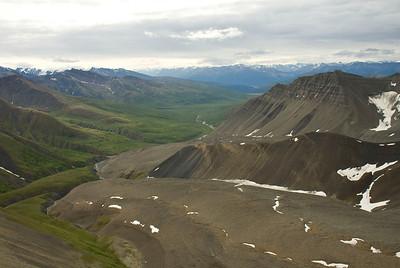 Mount Andrus Rock Glacier, Wrangell - St Elias NP, July 2009