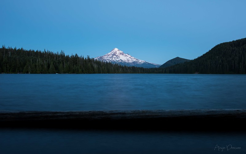 Twilight Mt. Hood