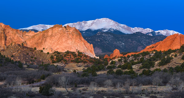 Dawn at Garden of the Gods