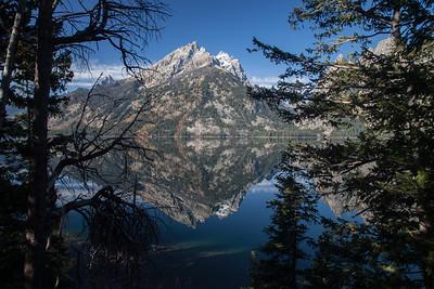 Jenny Lake and Teton Mountains