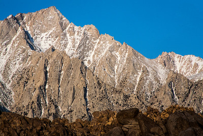 Lone Pine Peak in the Sierra Nevada Mountains.