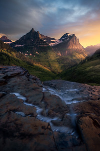Beautiful light in a beautiful place! - Glacier National Park, Montana