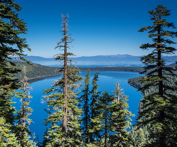 A blue day in Tahoe, Fallen Leaf Lake