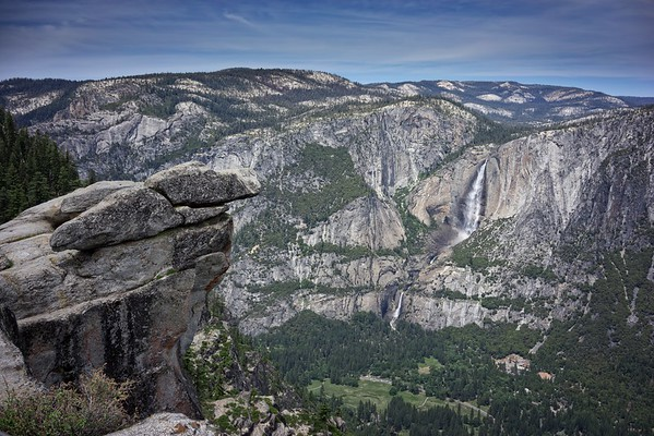 Yosemite Falls, Glacier Point Views