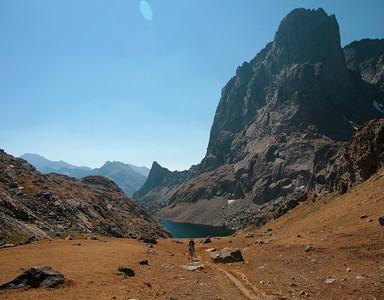 Jackass Pass, Wind River Range, Sept 2006