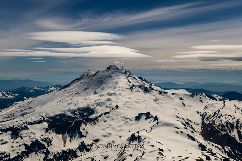 Lenticulars over Mt. Baker