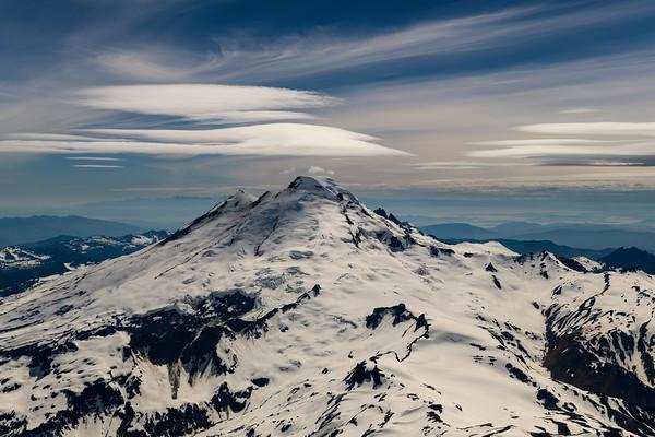 Lenticulars over Mt. Baker